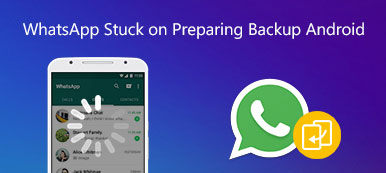 WhatsApp Stuck on Preparing Backup Android