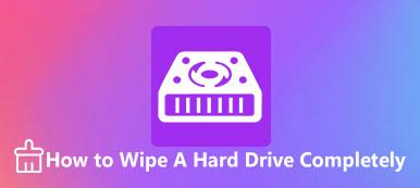 Wischen Sie eine Festplatte