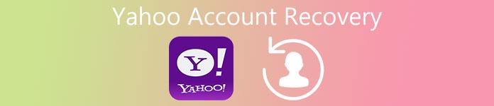 Yahooのアカウントの回復