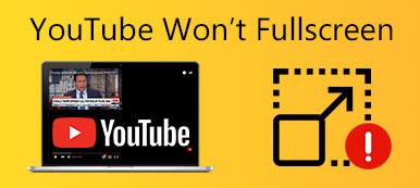 YouTube wird nicht als Vollbild angezeigt