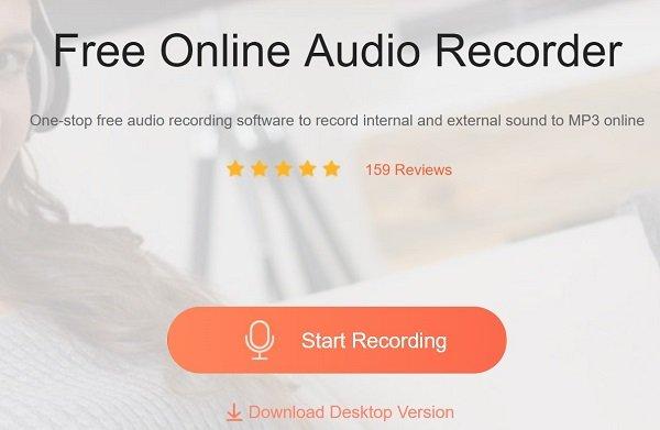 Démarrage de l'enregistreur audio