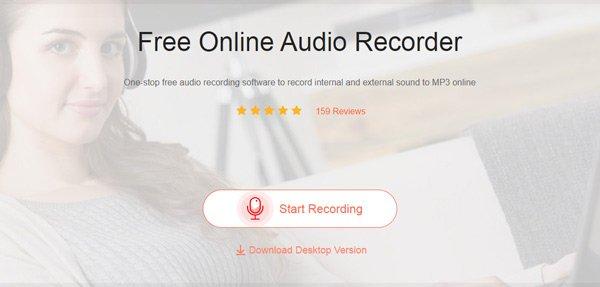 Kostenloser Online-Audiorecorder
