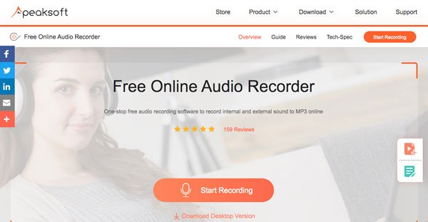 Online-Audiorecorder