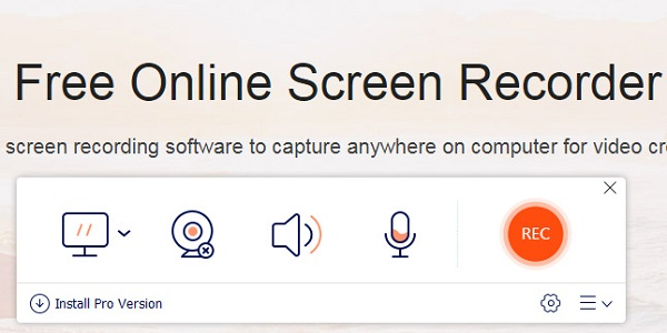 Screen recorder launcher