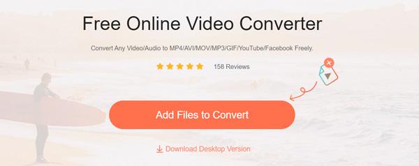 Kostenloser Online-Konverter von m4v zu mp4