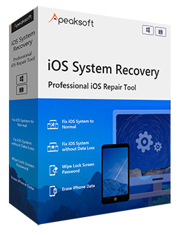 iOSシステム復旧