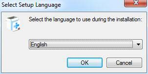 Sélectionnez la langue