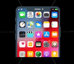 iPhone entsperrt