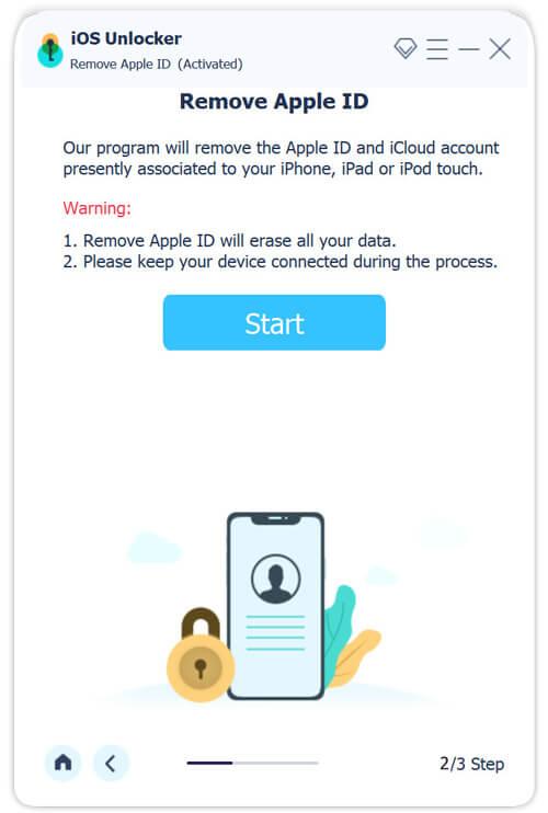 Entfernen Sie die Apple ID-Warnung