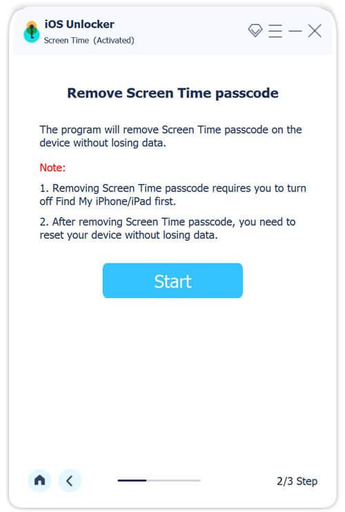 Starten Sie den Wipe Passcode