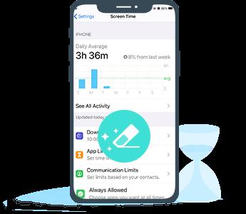 Löschen Sie das iPhone-Bildschirm-Zeitkennwort