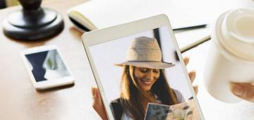 Übertragen Sie Fotos vom iPhone auf das iPad