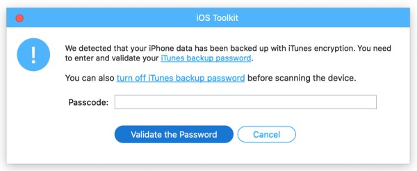 Enter iTunes Password Mac