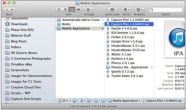 Backup apps on iPhone to iTunes
