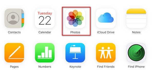 Télécharger des photos originales à partir d'iCloud