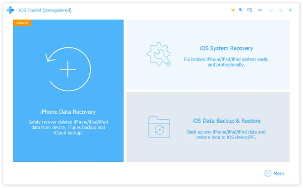 Apeaksoft iPhone Data Recovery 1.0.82 Screen shot