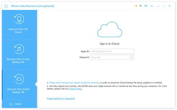 Recover Deleted Photos from iCloud Backup