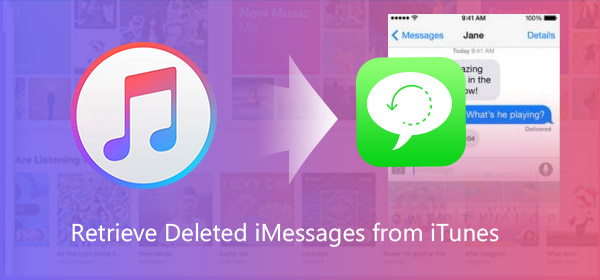 How to restore deleted iMessages from iTunes backup