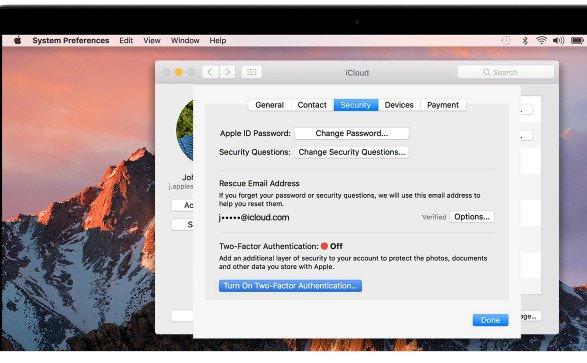 Macで2要素認証を設定する