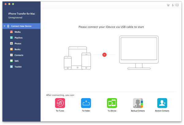 Apeaksoft iPhone Transfer for Mac