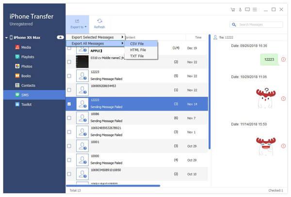 Synchroniser les messages texte iPhone et iPad vers le PC