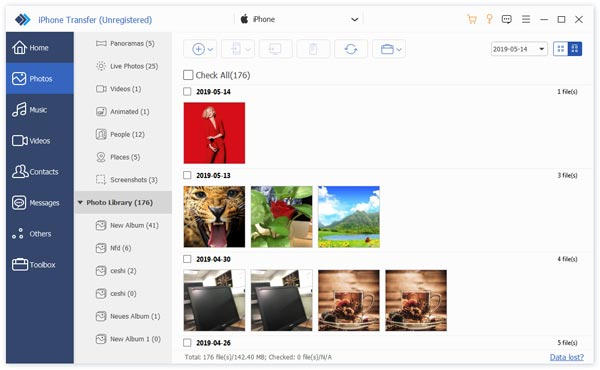 how to fix iphone photos not showing up in iphoto