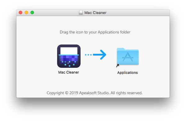 Drag Mac Cleaner Icon