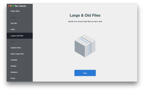 Scan Large Files on Mac