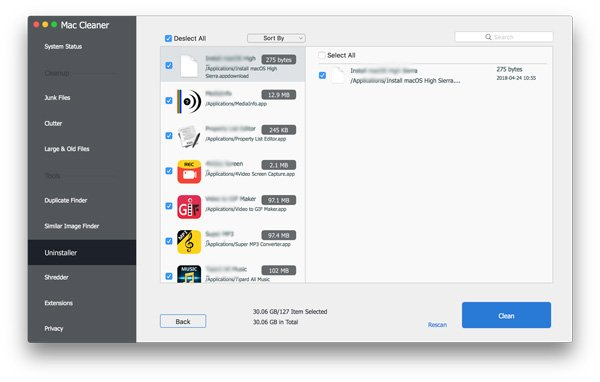 how do you delete downloaded files on mac