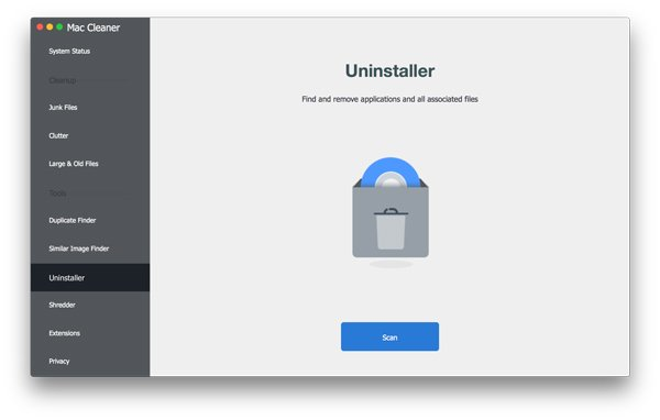 Choose Uninstaller