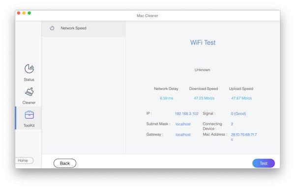 Testen Sie Wi-Fi