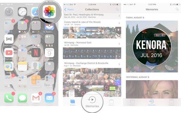 So speichern Sie eine Diashow auf dem iPhone in iOS 11