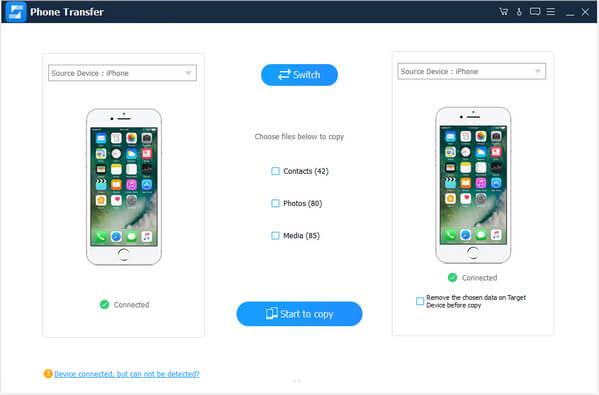 iOS vers iOS
