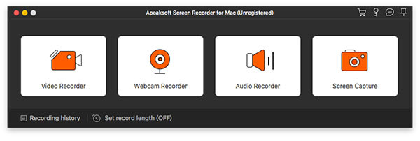 Recorder any audio or video on Mac
