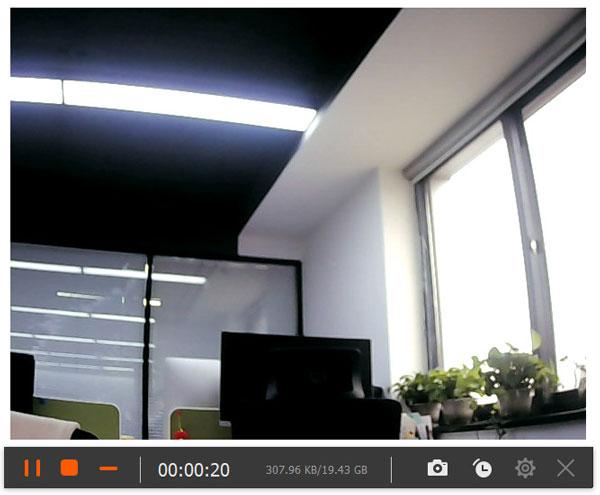 Запись видео в веб-камерах
