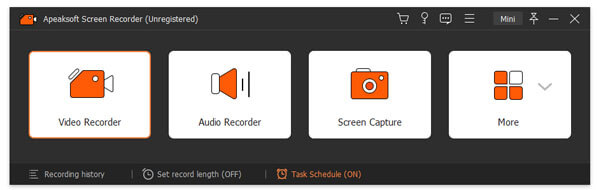 Apeaksoft Screen Recorder is used to record your computer screen. You can also use this screen recording software to record video and audio on your computer. It is one of the easiest and most convenient screen recording software.