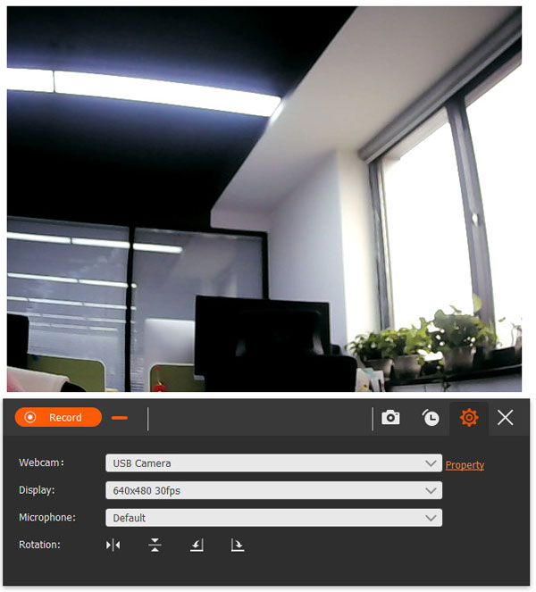 Настройки веб-камеры
