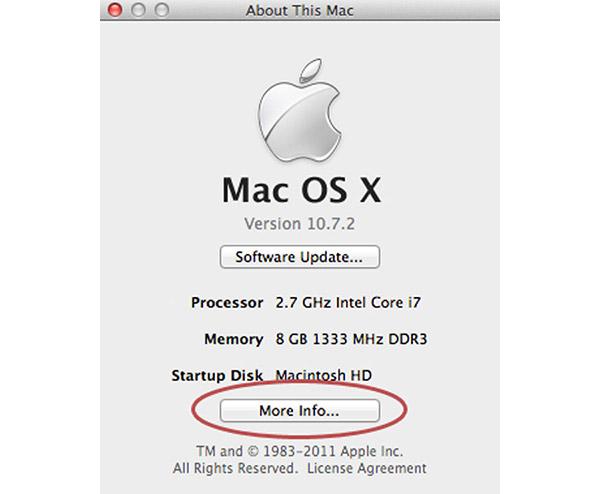Über Mac