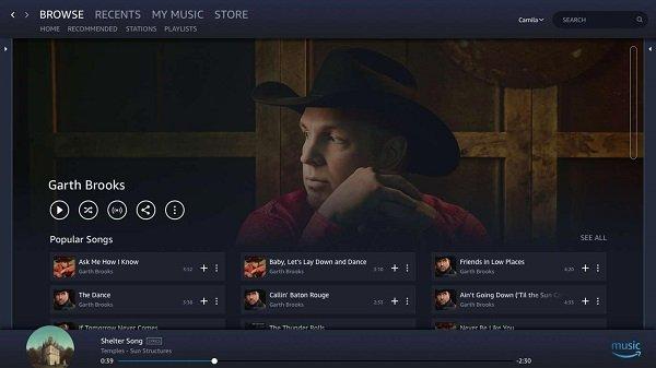 Fügen Sie Amazon Music hinzu