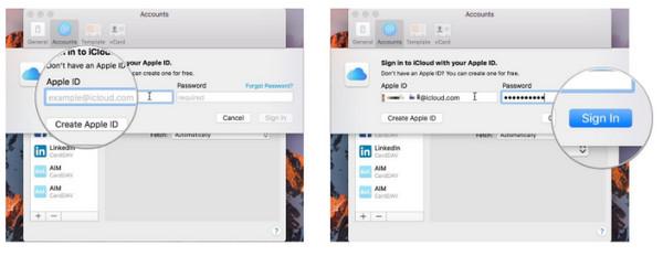 Ajouter un compte iCloud sur Mac