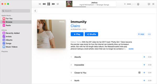 Hinzufügen von Musik zu Apple Music Mac
