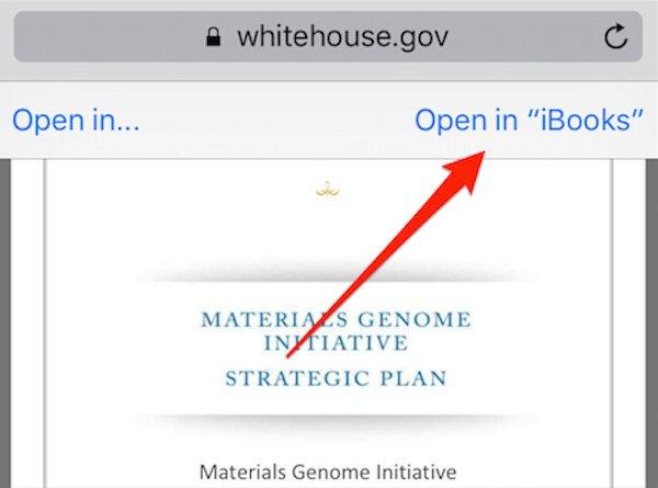 Ajouter un fichier PDF à iBooks