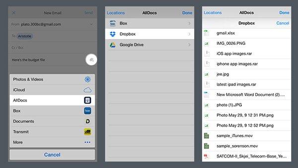 Klingelton zu Dropbox hinzufügen
