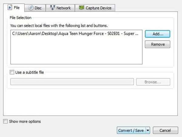 Ajouter WebM à VLC