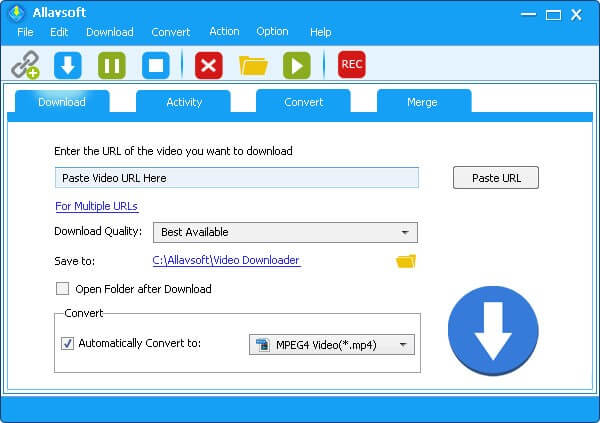 Allavsoft Downloader