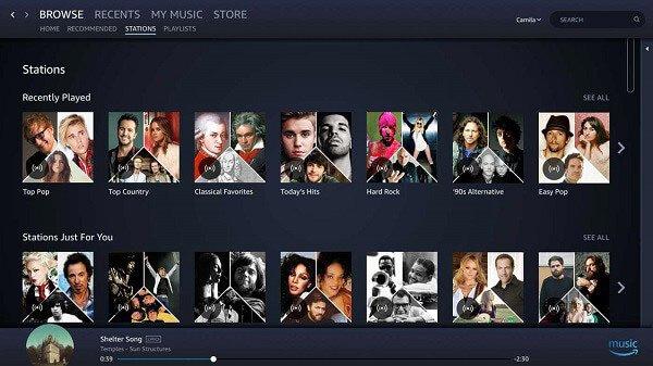 Amazon Musik-App