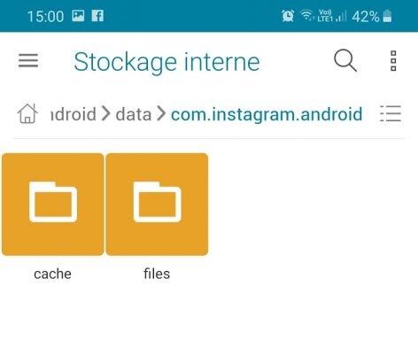 Android File Manager Laden Sie Instagram Video herunter