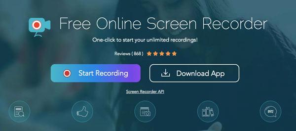 Apowersoft kostenlose Online-Bildschirm-Recorder