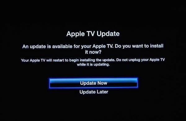 Apple TV-Updates