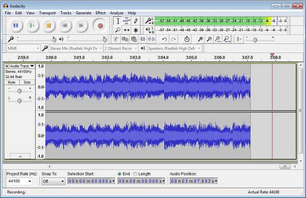 Audacity Streaming-Recorder